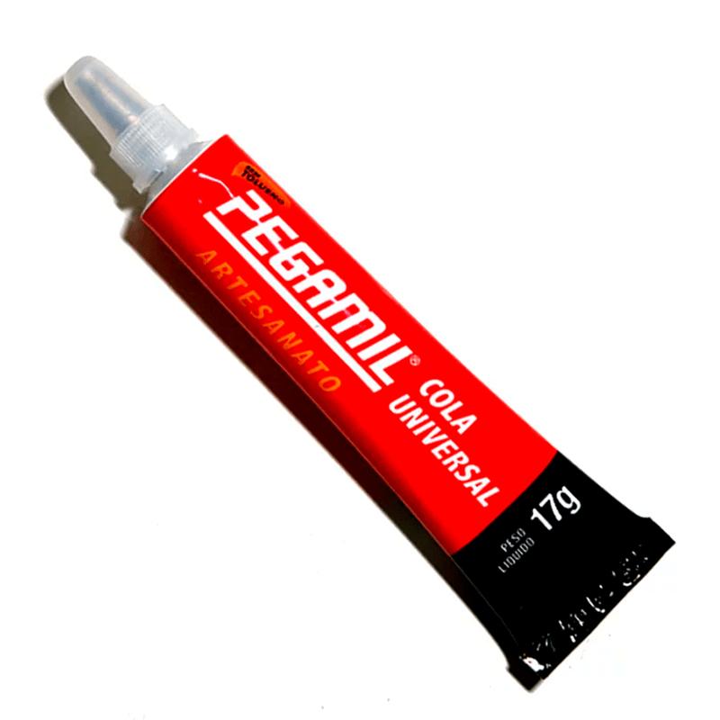 Cola Universal Transparente - Pegamil - Liquída  - C/17g