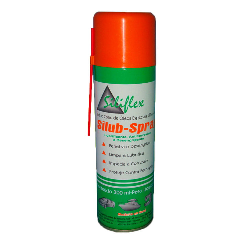 Óleo Spray Siliflex - Silub Spray - 300ml