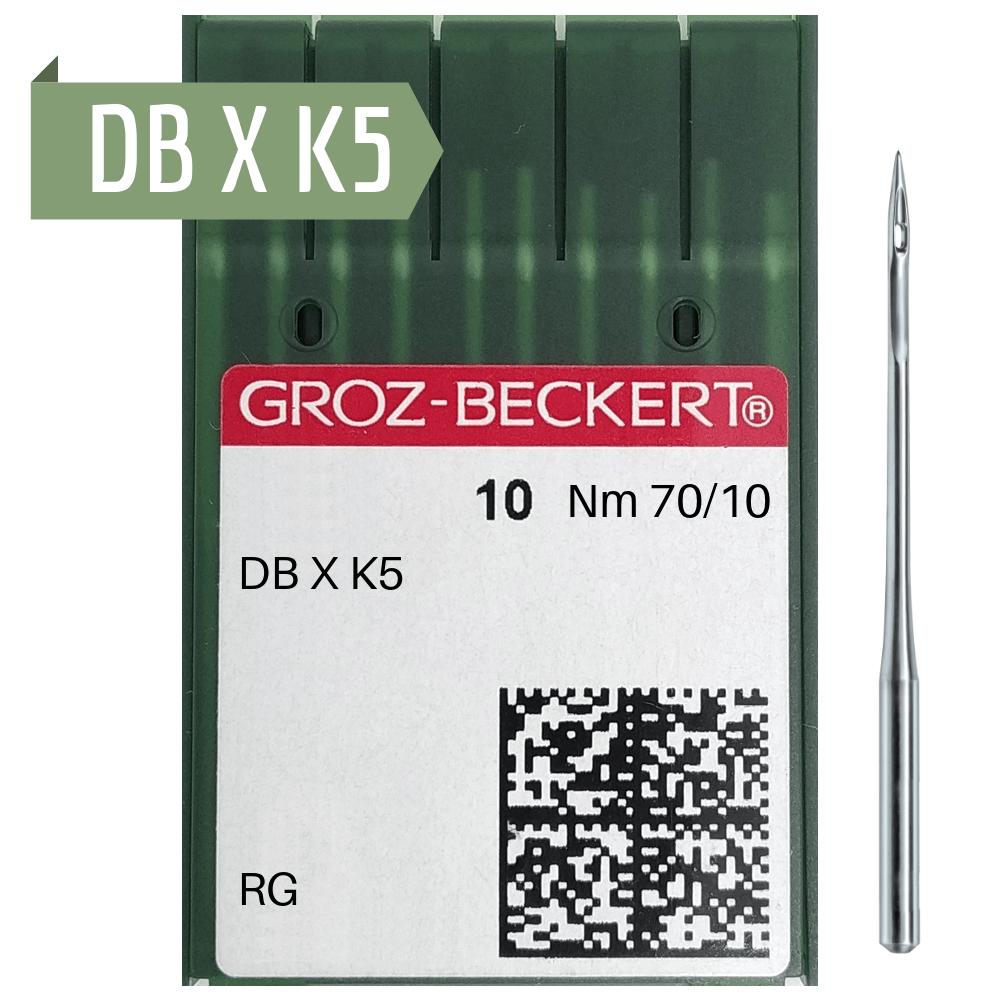 Agulha de Máquina Groz Beckert para Costura DBXK5 - Bordadeira - Envelope c/10 und