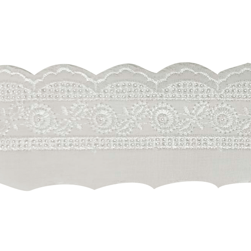 Tira Bordada - BDB 8731 - 5cm - C/13,7m