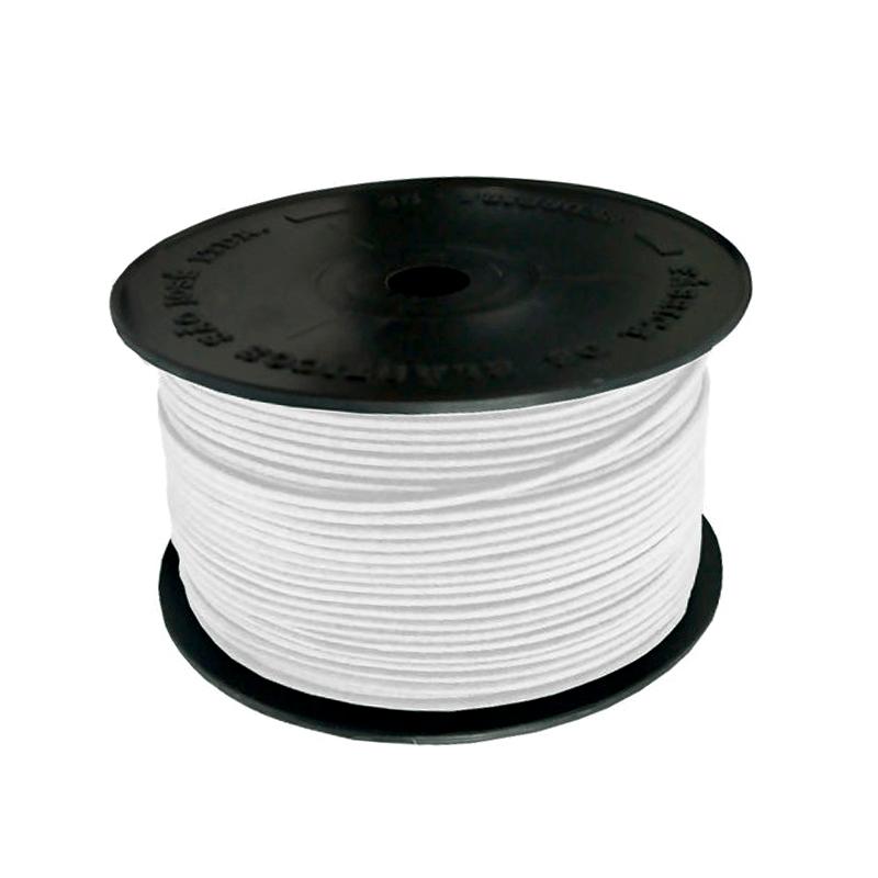 Elástico Roliço Colombe 10R - Branco - São José - 2,5MM - C/100M