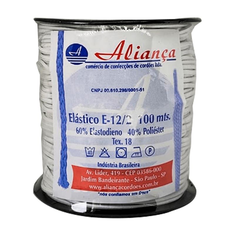 Elástico Roliço E-12/2 - Aliança - 2,8 mm - C/ 100m