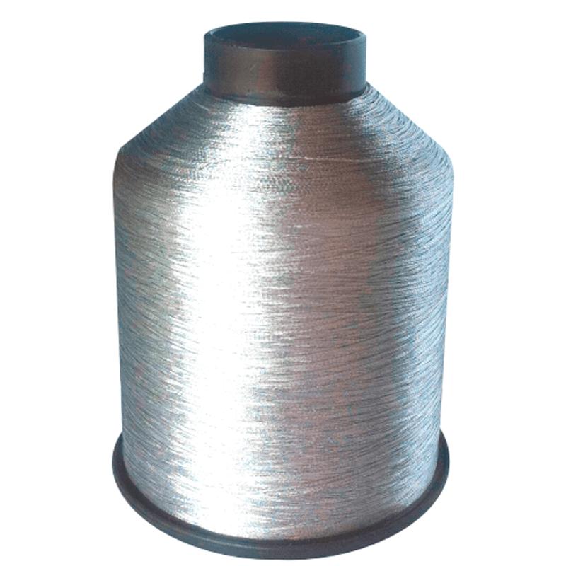 Linha Metalizada para Bordado - Cor: Prata MR01 - C/4000M