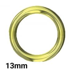 Argola P/Alça - 13mm - C/100und - Fermoplast