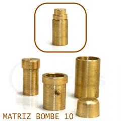 Matriz para Botão Bombê - Unidade - Nº 10 - 10 mm