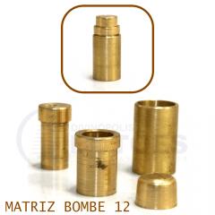 Matriz para Botão Bombê - Unidade - Nº 12 - 12 mm