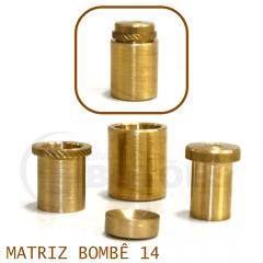 Matriz para Botão Bombê - Unidade - Nº 14 - 14 mm