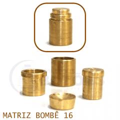 Matriz para Botão Bombê - Unidade - Nº 16 - 16 mm