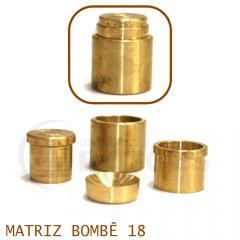 Matriz para Botão Bombê - Unidade - Nº 18 - 18 mm
