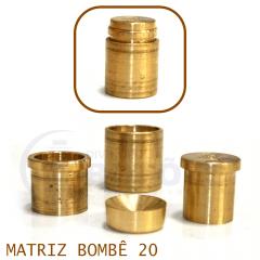 Matriz para Botão Bombê - Unidade - Nº 20 - 20 mm