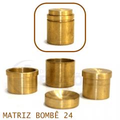 Matriz para Botão Bombê - Unidade - Nº 24 - 24 mm
