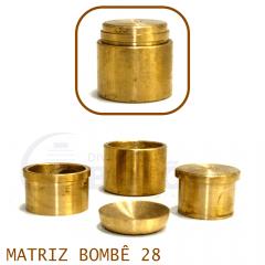 Matriz para Botão Bombê - Unidade - Nº 28 - 28 mm