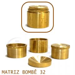 Matriz para Botão Bombê - Unidade - Nº 32 - 32 mm