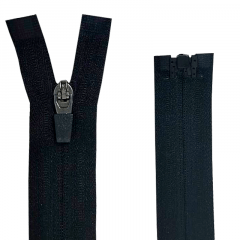 Zíper Nylon Fitness Invisível Destacável N#3 - Cursor emborrachado - 70 cm