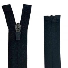 Zíper Nylon Fitness Invisível Destacável N#3 - Cursor emborrachado - 80 cm