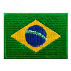 Etiqueta Termocolante Bandeira do Brasil - 52x74mm - C/10und