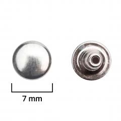 Rebite Ferro  Niquelado 1070/70F - C/ 1000UND