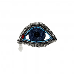 Aplique Olho Azul - UND