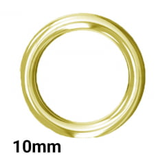 Argola P/Alça - 10mm - C/100und - Fermoplast