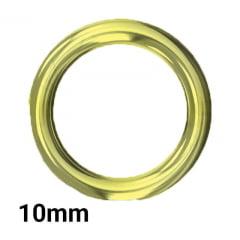 Argola Fermoplast - 10mm - c/100und