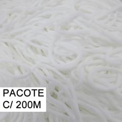 Cordão com elastano para Máscaras - 3 mm - pacote com 200 metros