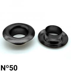 Ilhós de Ferro - Baxmann - Nº50 - C/1000und