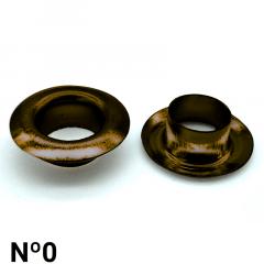 Ilhós de Ferro - Dallmac - Nº0 - C/1000und
