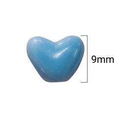 Miçanga Corações - Cores Sortidas - 9mm - C/100g - Cód GXR-147