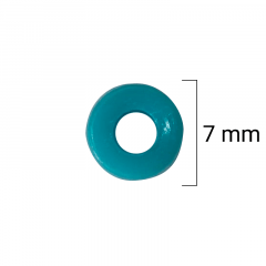 Miçanga Redondas - Cores Sortidas - 7mm - C/100g - Cód GXR-145