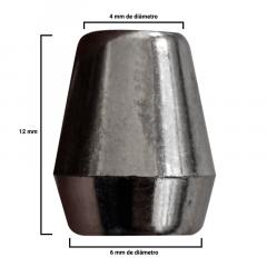 Ponteira Afunilada - Onix - 12mm - C/100und - Cód MSO-017