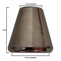 Ponteira Onix Afunilada - Sino - c/100und - Cód XR-005