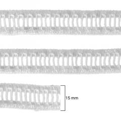 Ponto Palito - Hak - 1506MINI - Branco - 15mm - C/100M