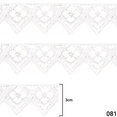 Renda Guipír - Arte Punto - 3cm - C/13,7m - Ref GP041