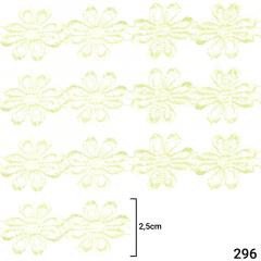 Renda Guipír - 2,5cm - C/13,7m - Ref CHL-207-25