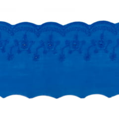Tira Bordada  -  Bordado Inglês 7,5 cm com 13,7 metros