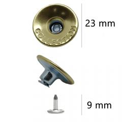 Botão Flexível de Ferro com 250 unidades