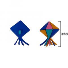 Botão Infantil - Balão Colorido de Festa Junina - 30mm - c/50und