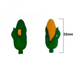 Botão Infantil - Milho Pequeno - 25mm - c/50und