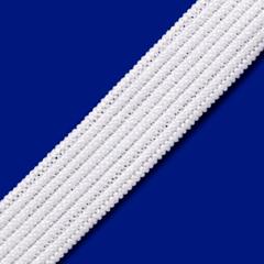 Elástico Chato Short Light - Branco - Real - 12mm - C/100M