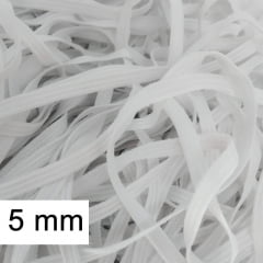 Elástico chato 5 mm pacote C/100 m - Zanotti