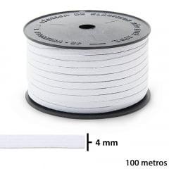 ELÁSTICO CHATO PIGEON - 4mm -  SÃO JOSÉ - C/ 100M