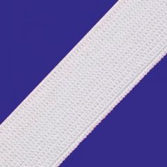 Elástico Chato Real Rubi Reforçado - 25mm - Branco
