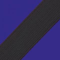 Elástico Chato Real Rubi Reforçado - 25mm - Preto