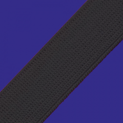 Elástico Chato Real Rubi Reforçado - 60mm - Preto