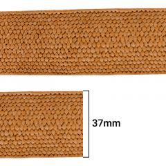 Elástico Trançado Sintético - P/Cinto - Bege - 37mm - C/10M