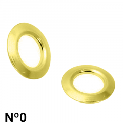 Arruela de Ferro - Baxmann - Nº0 - C/1000und