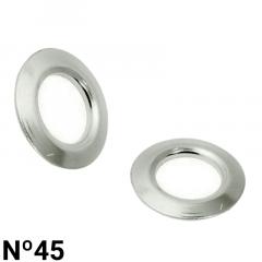 Arruela de Ferro - Baxmann - Nº45 - C/1000und