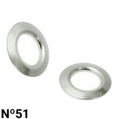 Arruela de Ferro - Baxmann - Nº51 - C/1000und