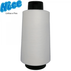 Fio Para Overlock Branco - NICE - 100% Poliéster Texturizado - Cone Com 500g