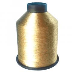 Linha Metalizada para Bordado - Cor: Ouro MR03 - C/4000M